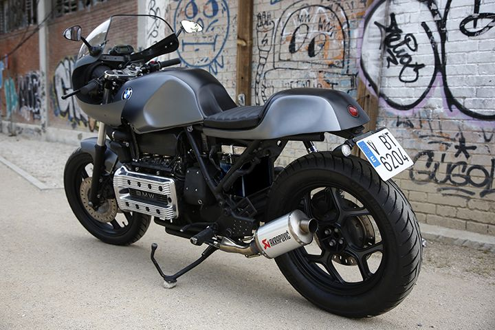 BMW K100 do Cafe Racer dam chat co dien sang trong day tinh te - 5