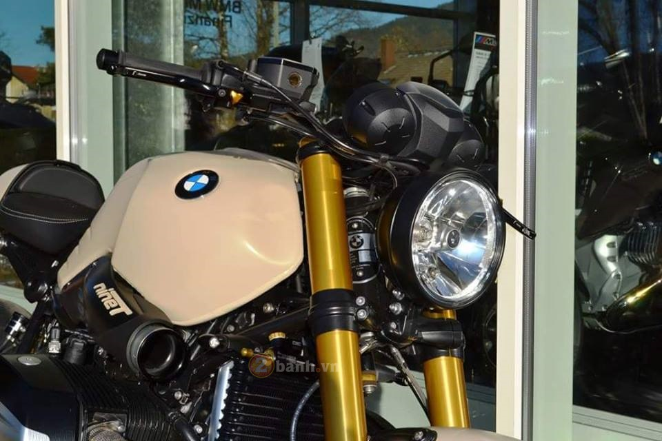 BMW R Nine T do manh me dam chat Cafe Racer - 4
