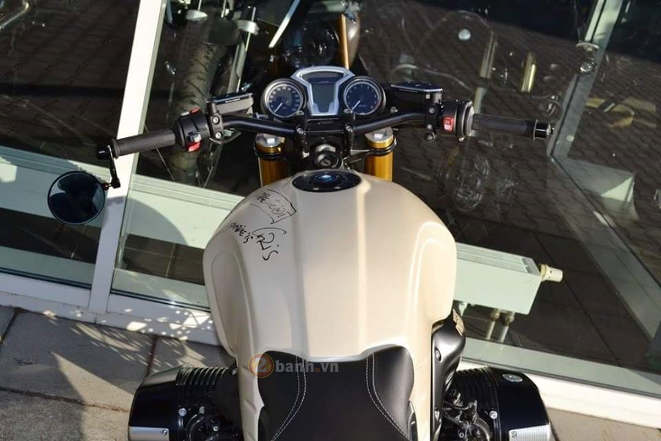 BMW R Nine T do manh me dam chat Cafe Racer - 14