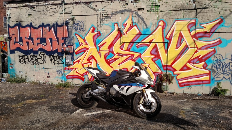 Bo anh dep cua BMW S1000RR theo phong cach Grafity