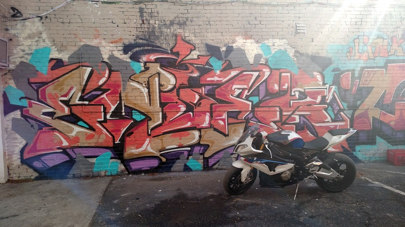 Bo anh dep cua BMW S1000RR theo phong cach Grafity - 3