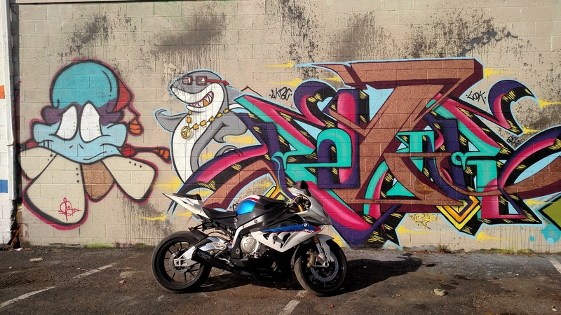 Bo anh dep cua BMW S1000RR theo phong cach Grafity - 5