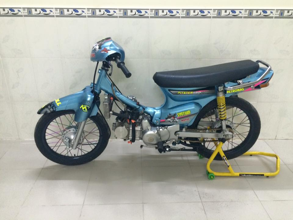 Dream do may NICE con tay den NEO binh xag FCR 39 po Yoshimura