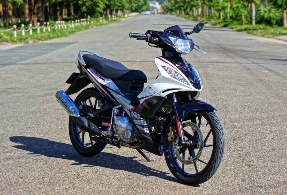 Exciter 2010 phong cach Spark rx135i