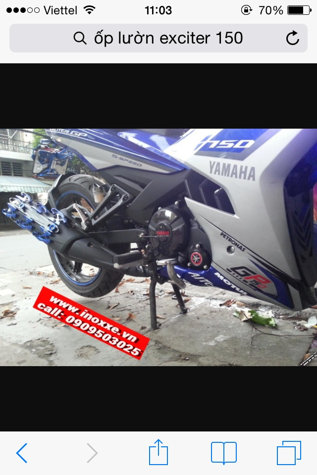 Hoi Ve Op Luon Mo Cay excenter 150cc
