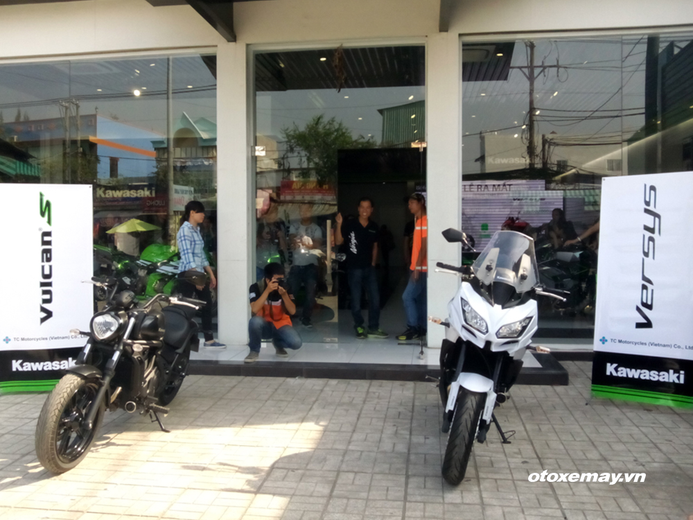 KAWSAKI VULCAN S AND VERSYS 650 ABS