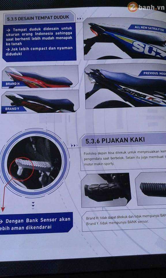 Lo thong tin cu the cua Suzuki Satria F150 Fi 2016 moi tren Catalog - 4