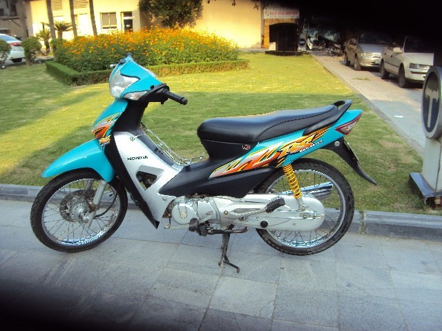 Mot so thac mac ve Wave RS 100 doi 2008