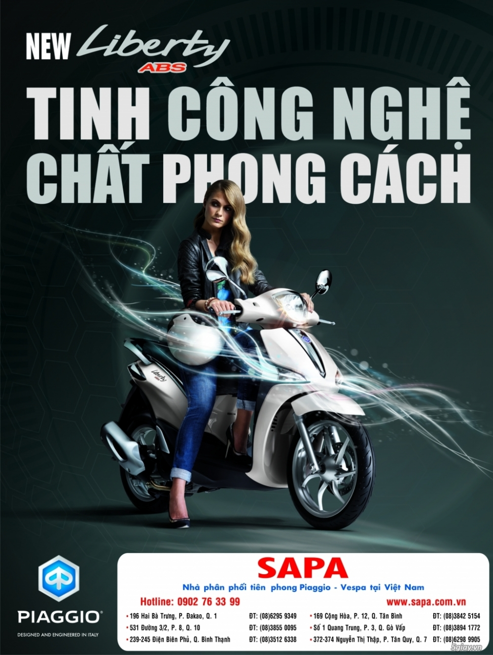 Piaggio Liberty ABS All New 0935 282928 Huy Phuoc - 2