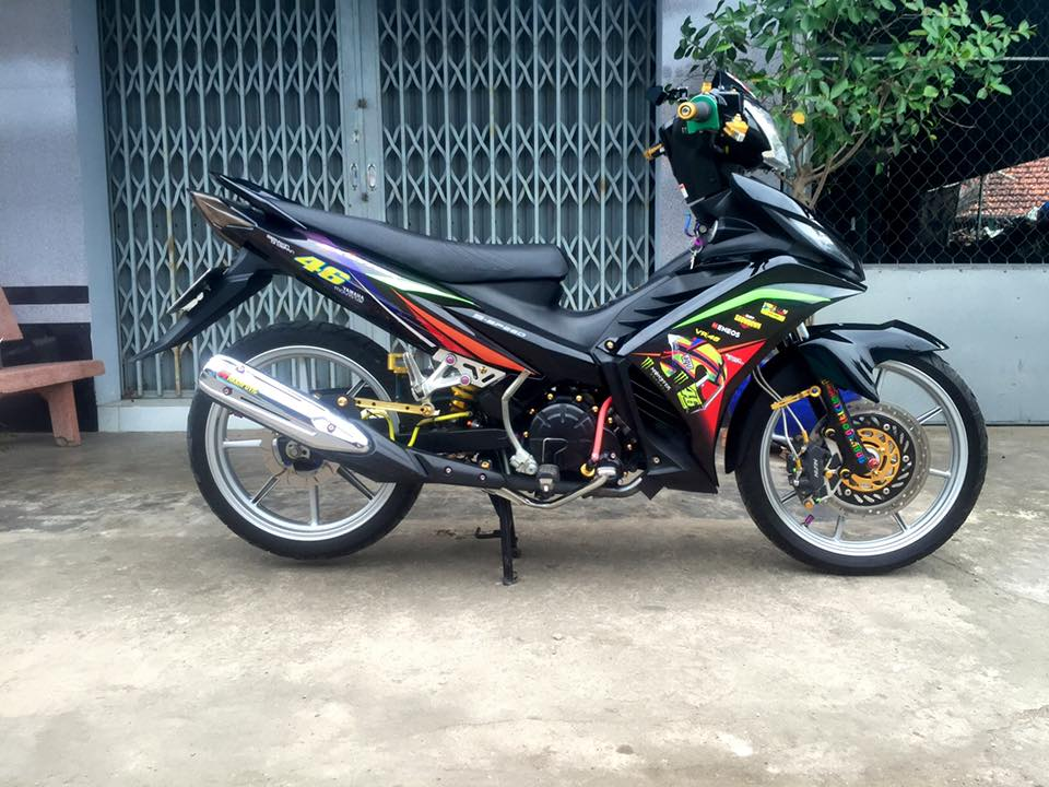 Phong cach manh me tu con Exciter 135 2 cang