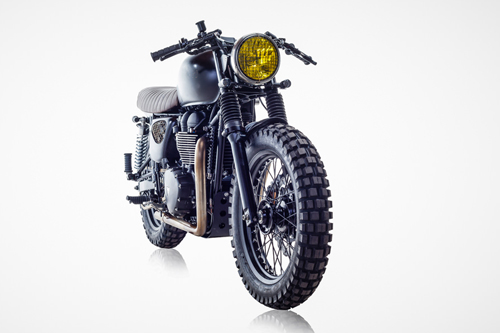 Triumph Bonneville T100 ban do David Beckham - 3
