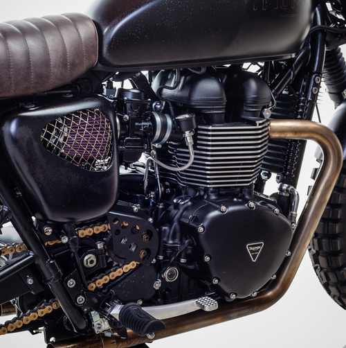 Triumph Bonneville T100 ban do David Beckham - 10