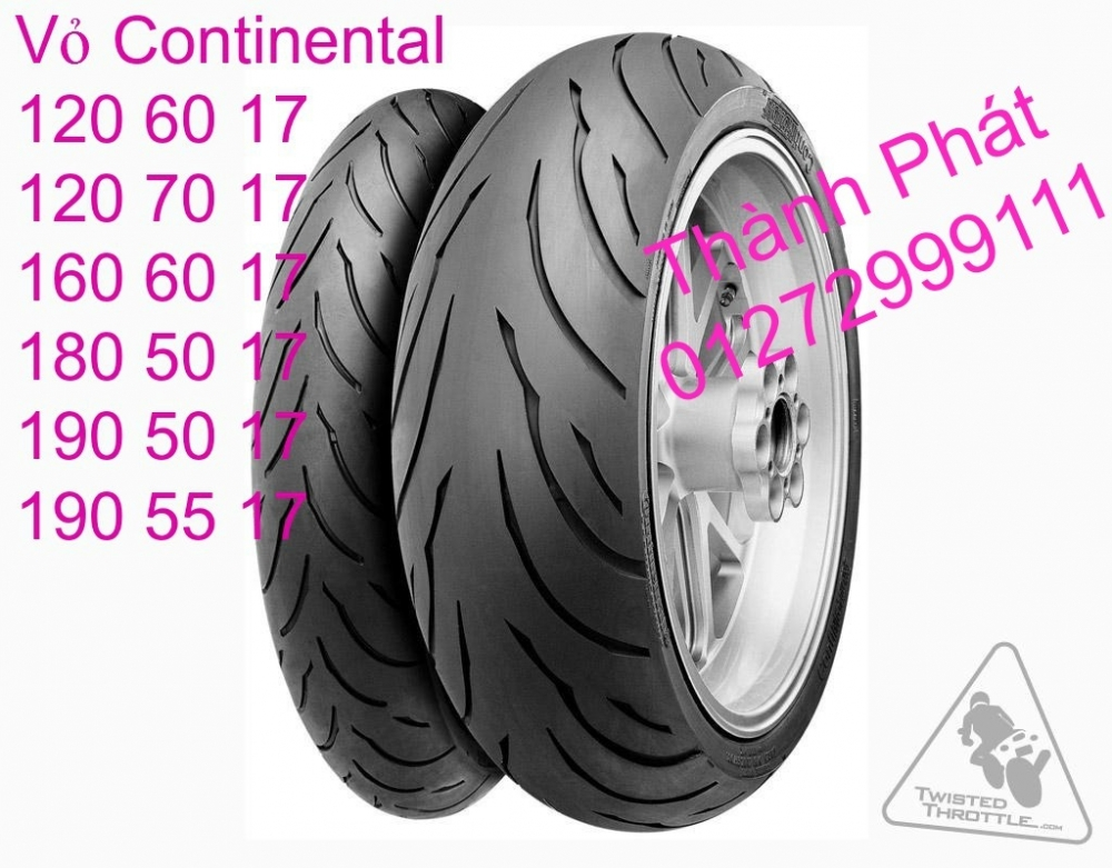 Vo lop xe may PKL va xe nho DunLop Michelin Briedgestone Continental IRC VeeRuber Swallow - 46