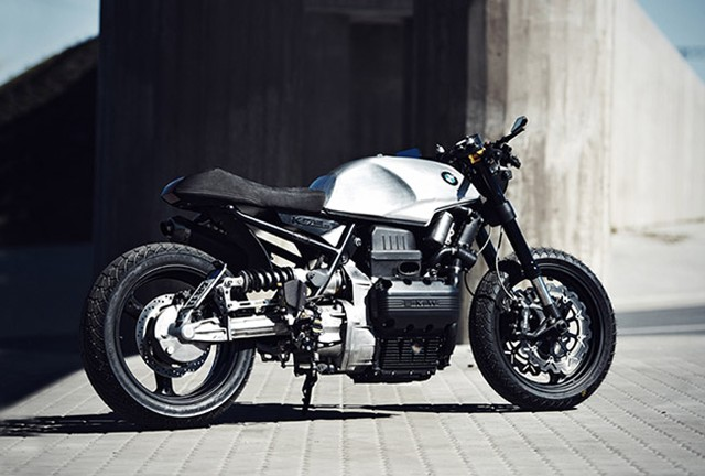 Xe co BMW K75S day sang tao voi phong cach Cafe Racer - 11
