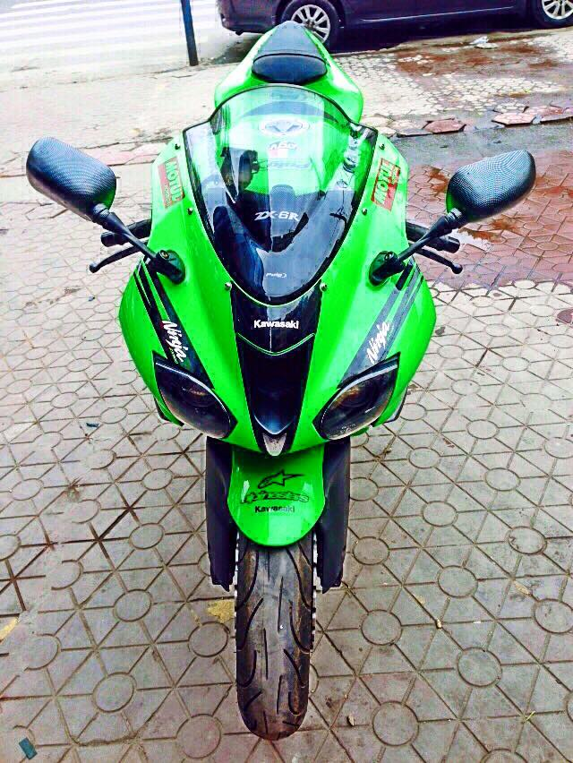 Ban Kawasaki Ninja ZX6R USA FullPower Green Monster MotoGP