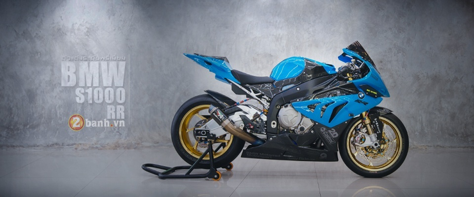 BMW S1000RR day kich thich voi phien ban do sieu chat