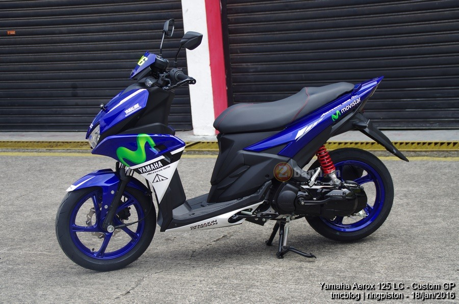 Can canh Yamaha Aerox 125 Movistar 2016 - 9