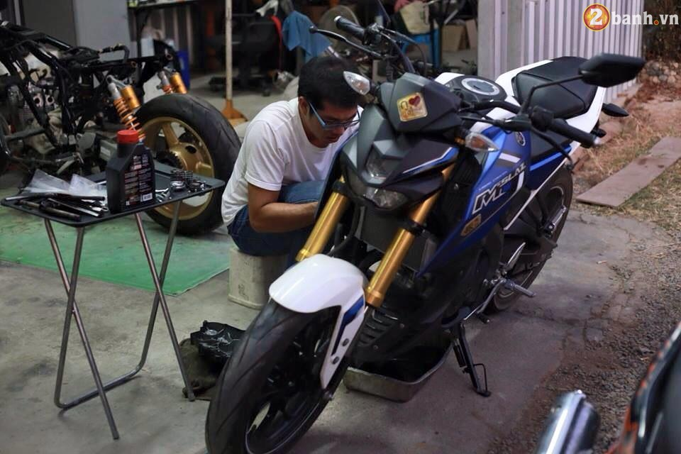 Can canh Yamaha MSlaz do noi cua biker Thai Lan - 13