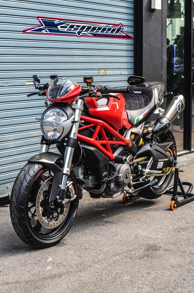 Ducati Monster 795 day chat lu cua nguoi Thai