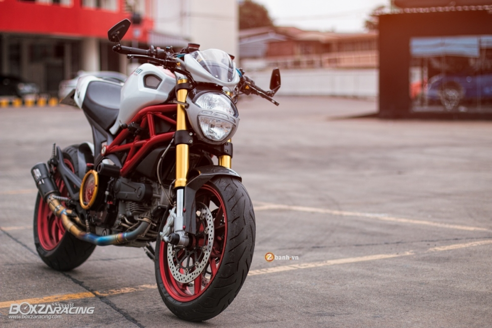 Ducati Monster 796 S2R do day hap dan cua biker Thai - 2