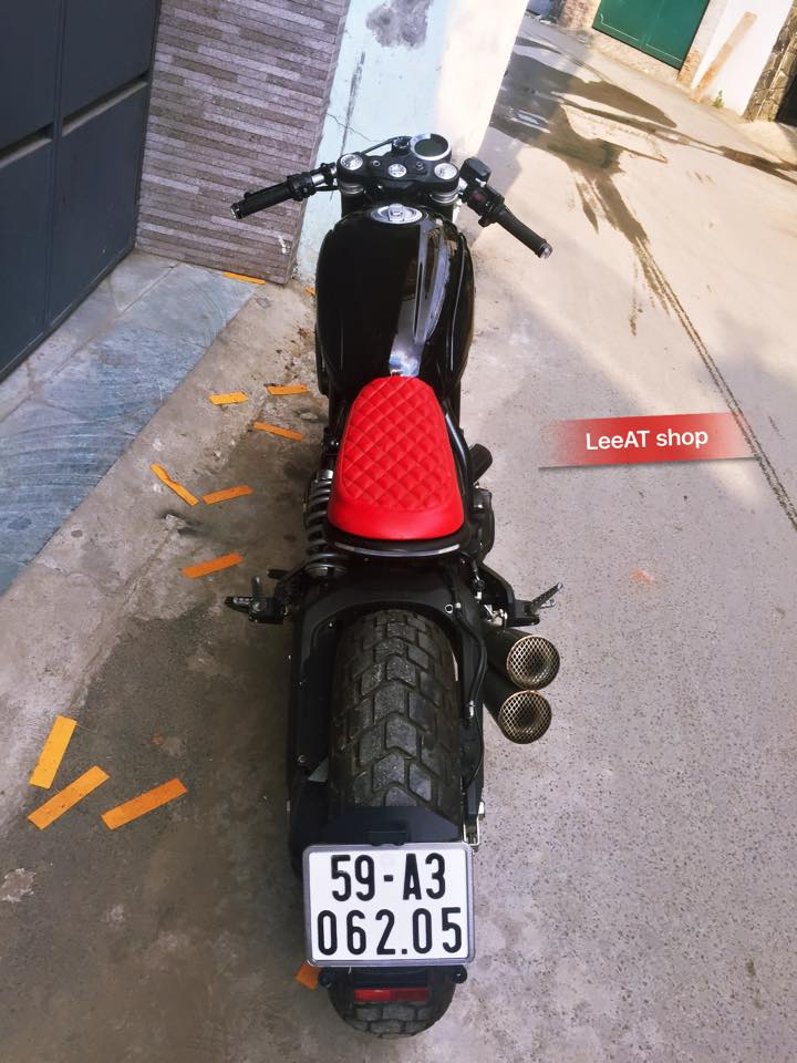 Ducati Scrambler Icon do cuc chat voi phong cach Cafe Racer tai Viet Nam - 3