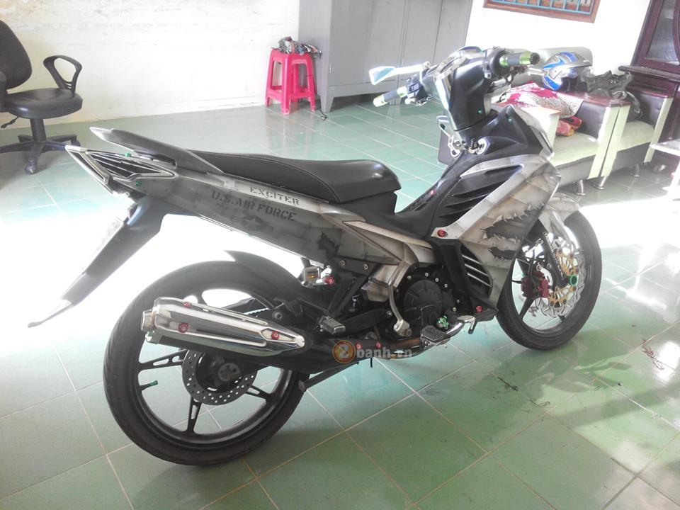 Exciter 135 phien ban xe tang thiet giap