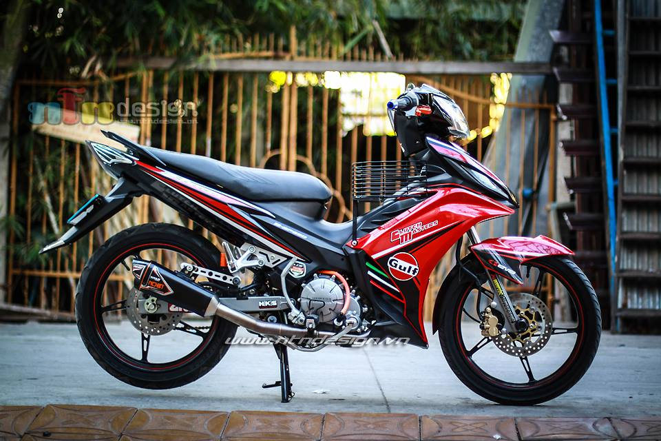 Exciter 135cc tap tanh len do choi