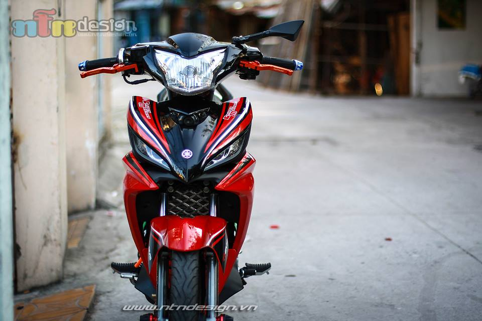Exciter 135cc tap tanh len do choi - 3