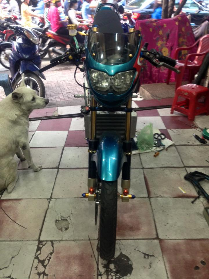 Can canh cop Nova dash 125cc do Drag - 15