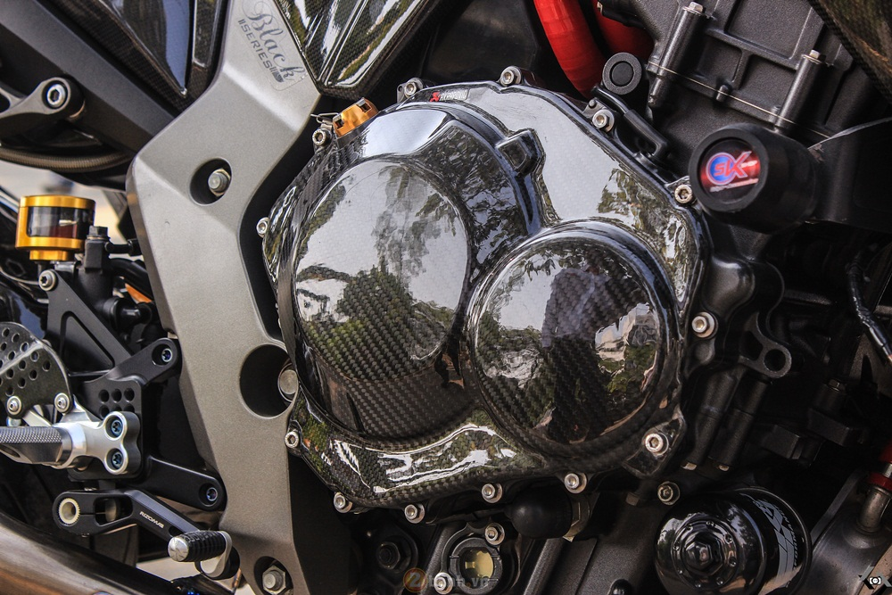 Honda CB1000R voi ban do full carbon - 7