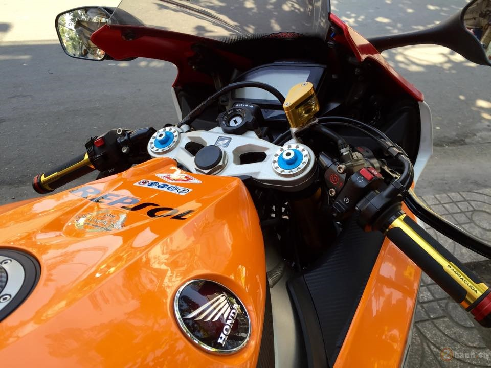Honda CBR1000RR SP Repsol 2015 do cuc chat tai Sai Gon - 3