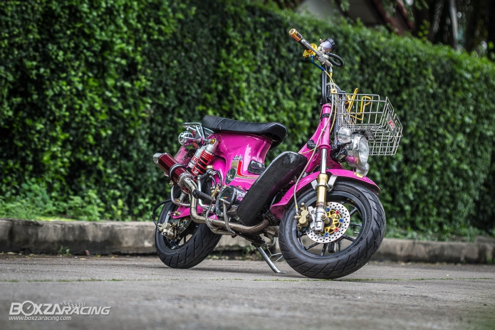 Honda Chaly do khung len may wave 110 full do choi do - 19