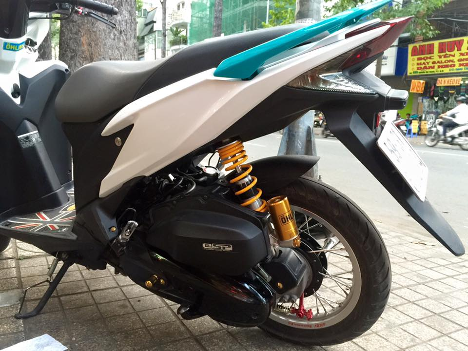Honda Click 125i do noi bat voi dan do choi kieng - 5