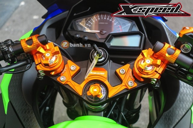 Kawasaki Ninja 300 do noi bat voi dan option do choi Biker - 5