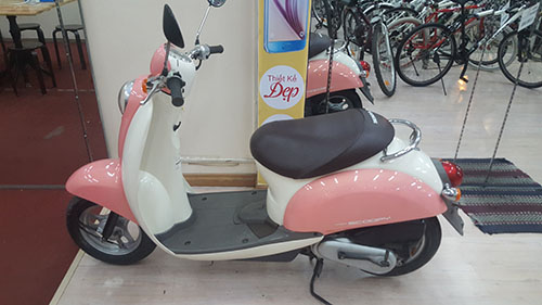 LO HANG XE MAY HONDA SCOOPY VA CREA MOI VE - 13