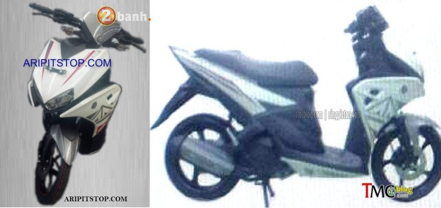 Lo thong so ky thuat Yamaha Aerox 125 2016