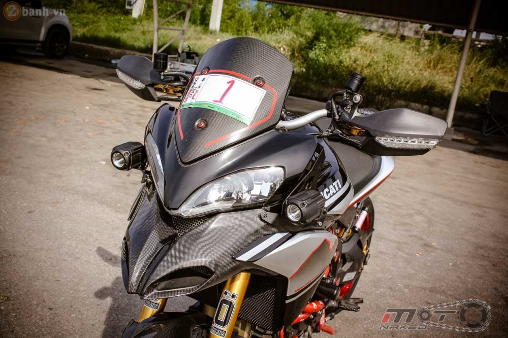 Ducati Multistrada 1200 voi phien ban do dam chat the thao - 4