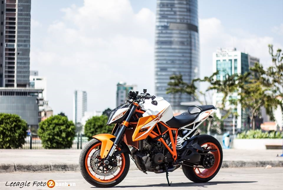 KTM Super Duke 1290 do cuc chat tai Sai Gon