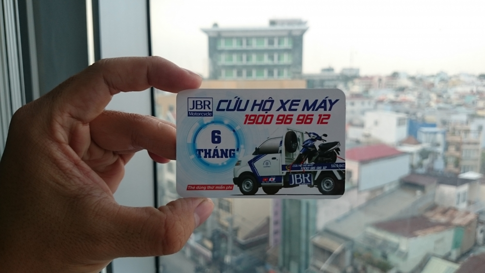 Tang the cuu ho xe may JBR Motorcyle ho tro 2424 - 4