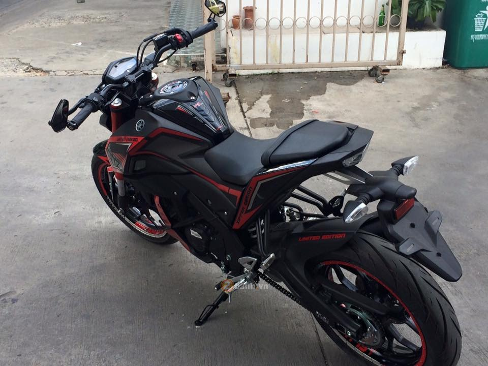 Yamaha MSlaz do chat tu biker Thai Lan - 3