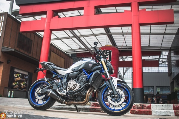 Yamaha MT07 voi phien ban do day phong cach