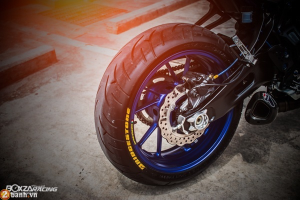 Yamaha MT07 voi phien ban do day phong cach - 3