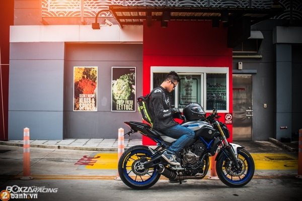 Yamaha MT07 voi phien ban do day phong cach - 11