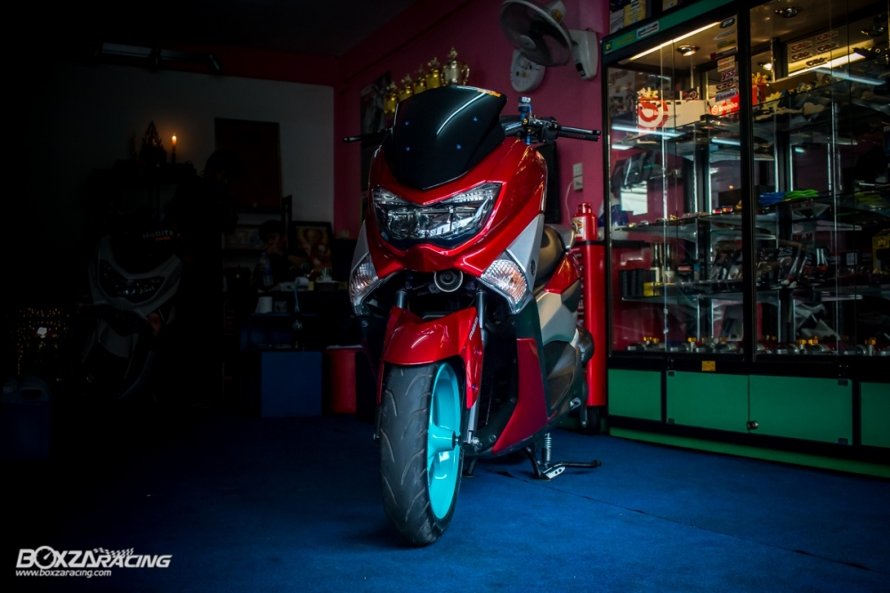 Ban do chat lu tu con Yamaha NMax day an tuong