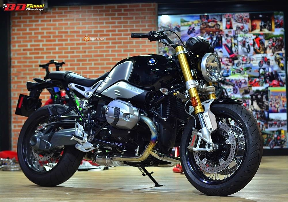BMW R Nine T do nhe mot so chi tiet do choi hang hieu