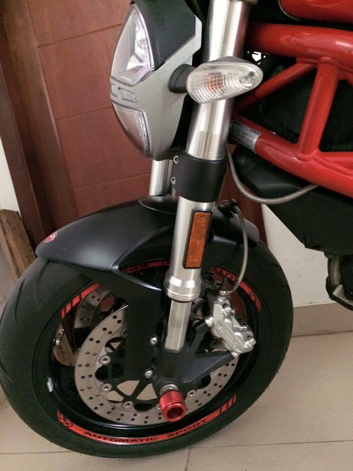 Can ban Ducati Monster 795 2012 odo 5000km