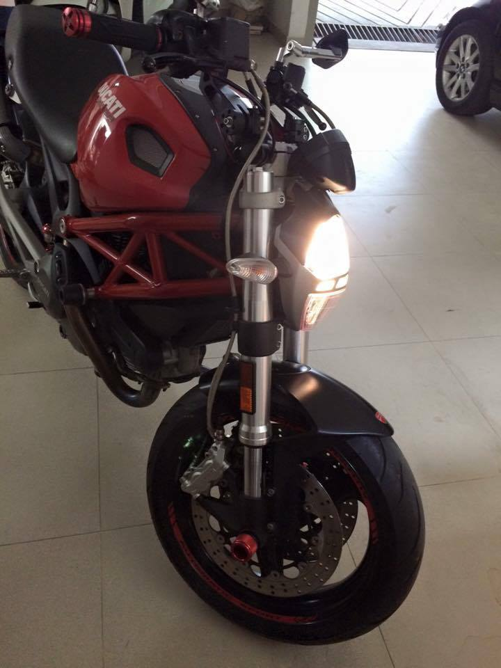 Can ban Ducati Monster 795 2012 odo 5000km - 2