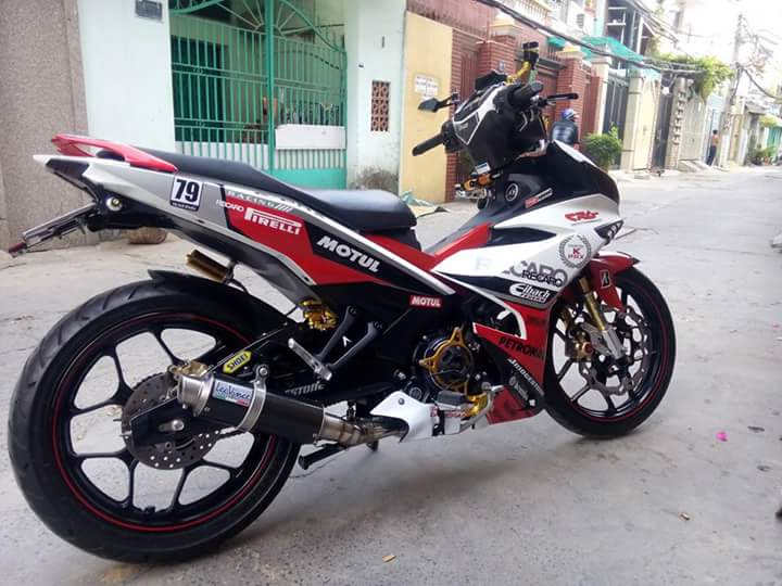 Exciter 150 do nhieu do choi chat ngay tet