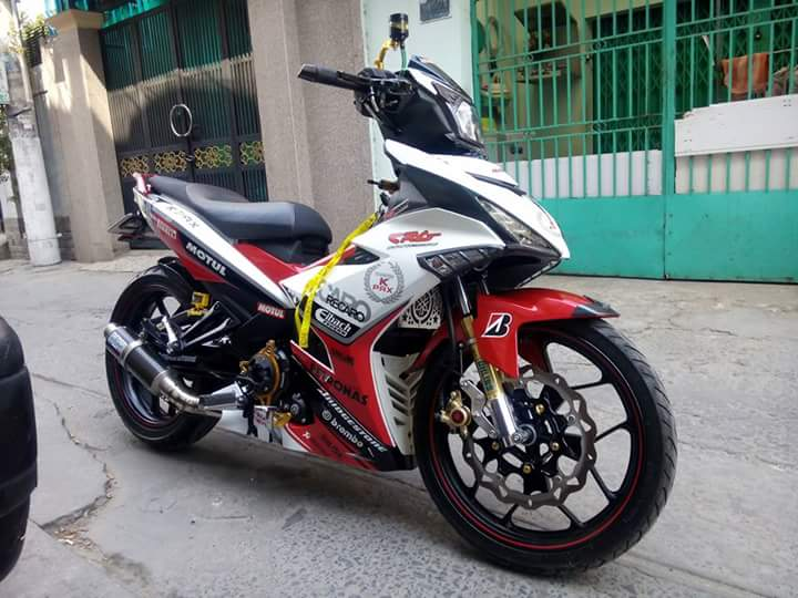 Exciter 150 do nhieu do choi chat ngay tet - 7