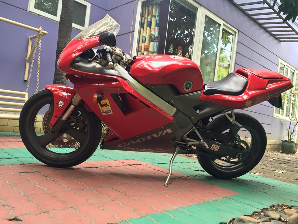 Hang doc Cagiva Mito 125cc Seven speed date 1995